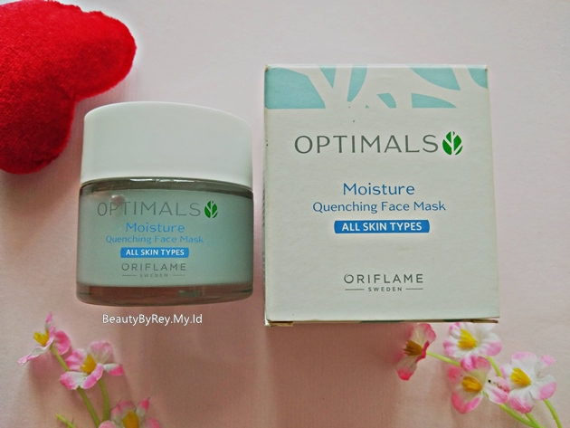 harga optimals moisture quenching face mask