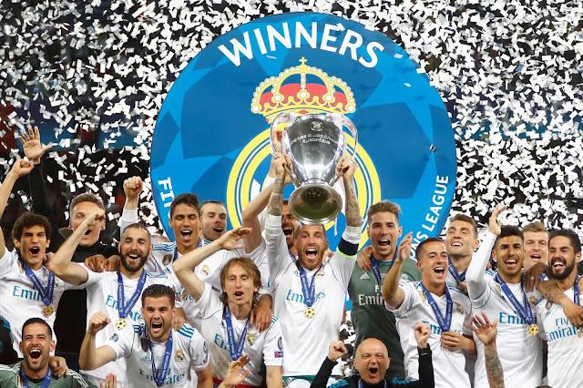 Real Madrid Yang Menjadi Pemenang Champion League Saat Melawan Liverpool