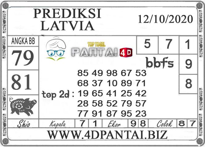 PREDIKSI TOGEL LATVIA PANTAI4D 12 OKTOBER 2020