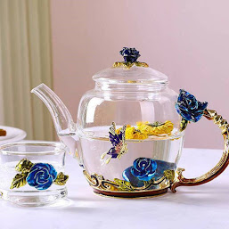 High Borosilicate Glass Teapot Set