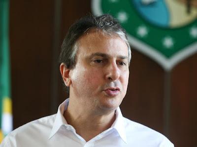 Camilo Santana não vai ao encontro de Bolsonaro na chegada das águas da Transposição