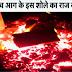 Meteorito cayó cerca de una estación de ferrocarril en Ghaziabad, Uttar Pradesh en la India
