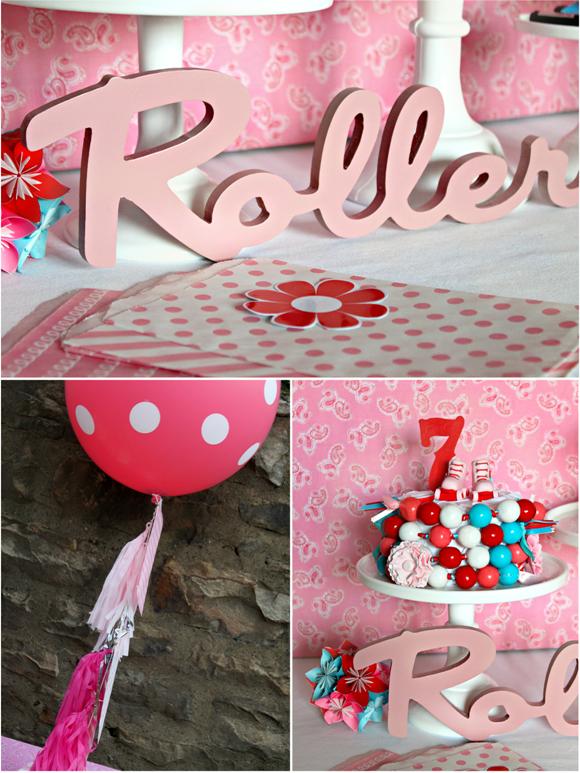 Roller Skating Birthday Party - via BirdsParty.com
