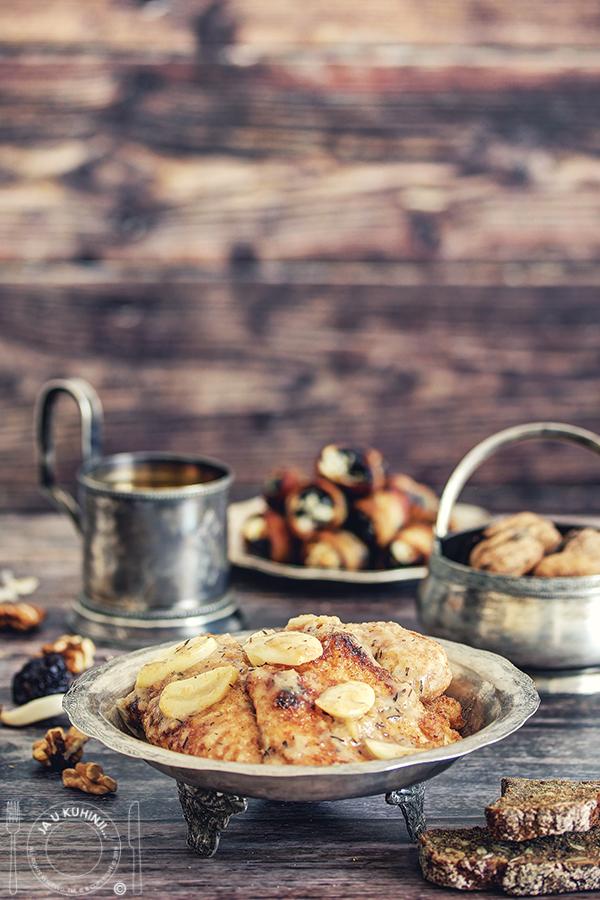 Piletina sa medom i punjene šljive