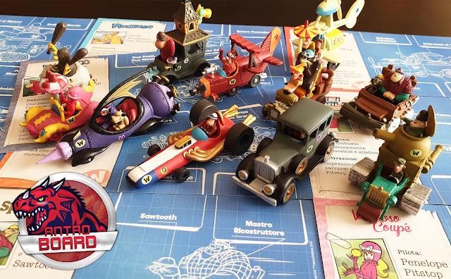 Wacky Races: il gioco da tavolo, la recensione