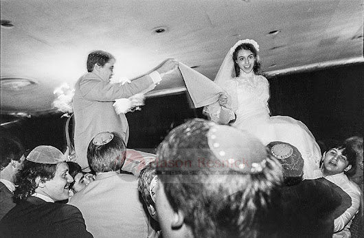Introducing Flashback Fridays: Orthodox Weddings in the '80s #1