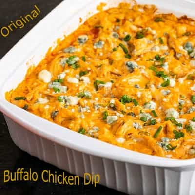 Cara Bikin Original buffalo chicken dip