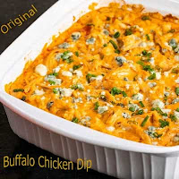 Cara Bikin Original buffalo chicken dip