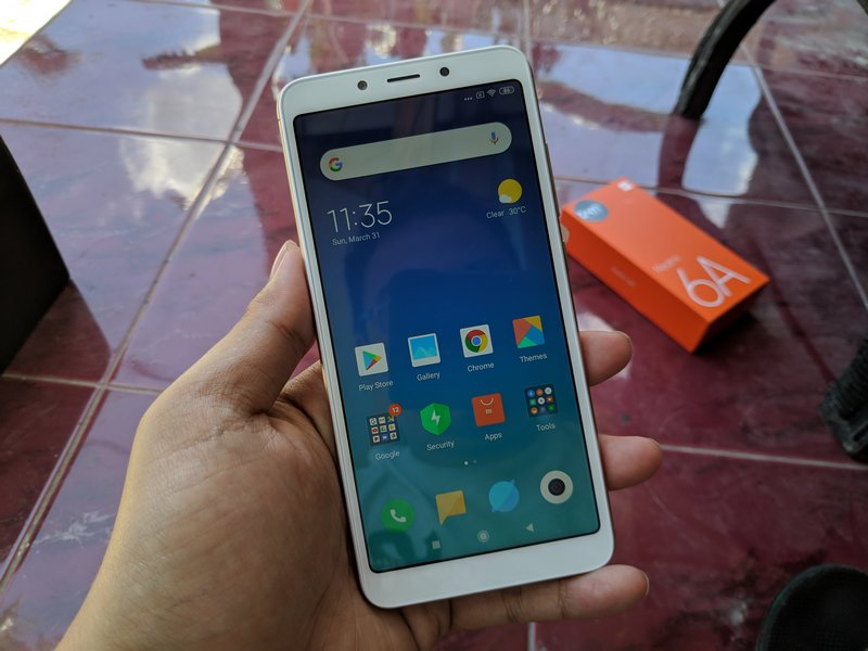 Review Xiaomi Redmi 6A