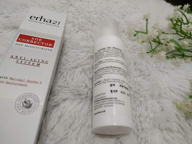 bagian belakang erha21 day moisturizer