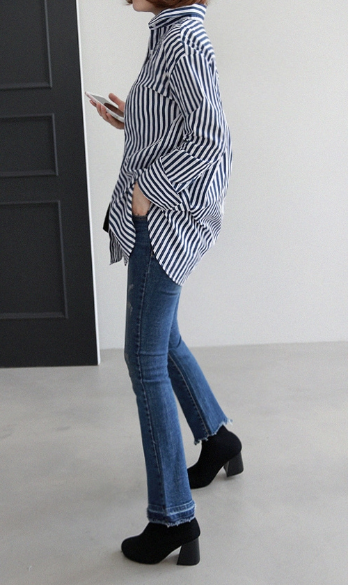 Bengal Stripe Button-Down Shirt