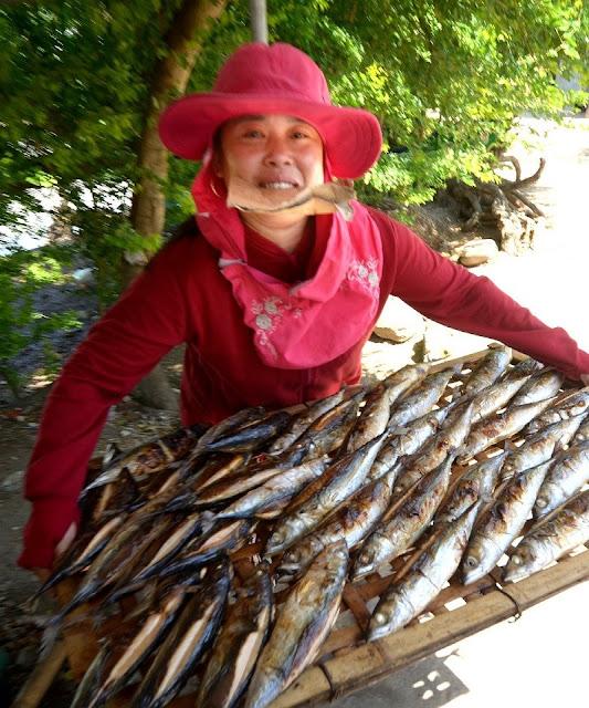 Thơm ngon cá nướng ở làng nghề nổi tiếng Nghệ An - 3