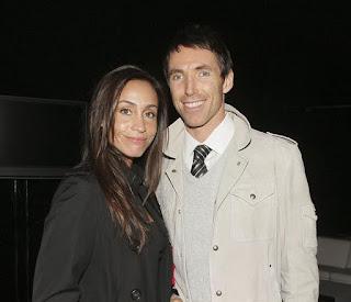 Alejandra Amarilla with her ex-husband Steve Nash