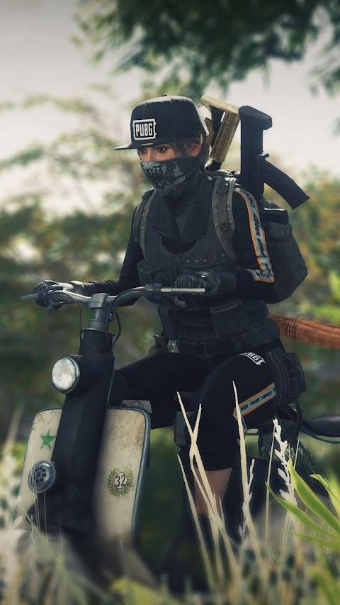 Girl Xinh Cưỡi Moto
