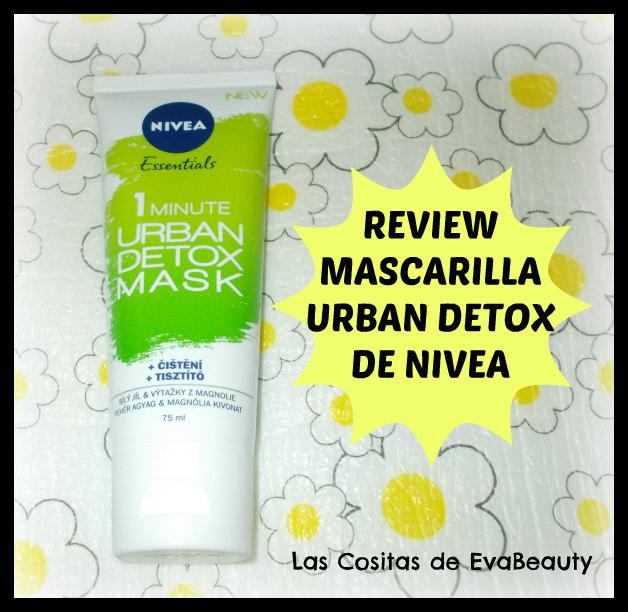Review opinion mask mascarilla facial Urban Detox nivea en Notino low cost