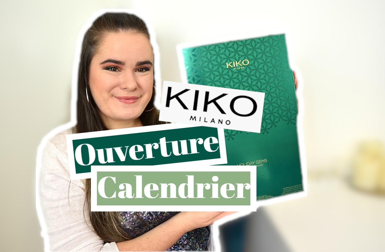 ouverture calendrier de l'avent kiko 2020 holiday gems