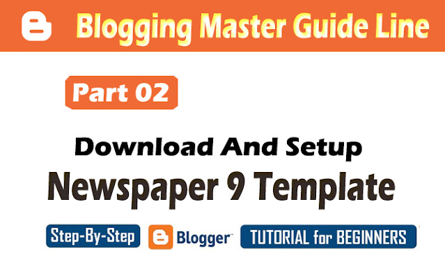 Download-and-install-Newspaper-9-Template