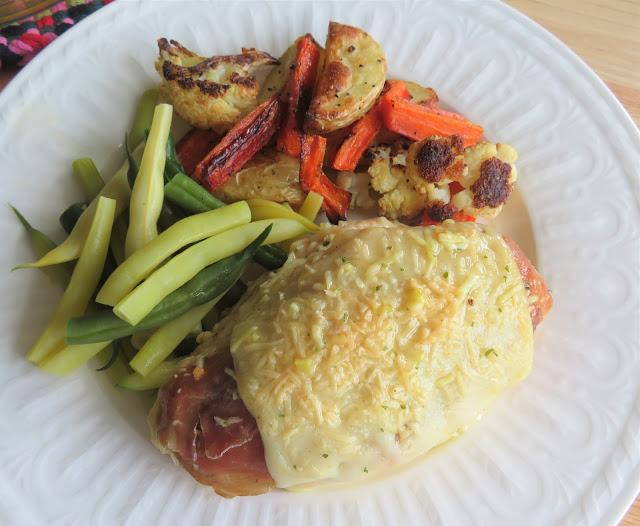 Chicken with Prosciutto & Cheese