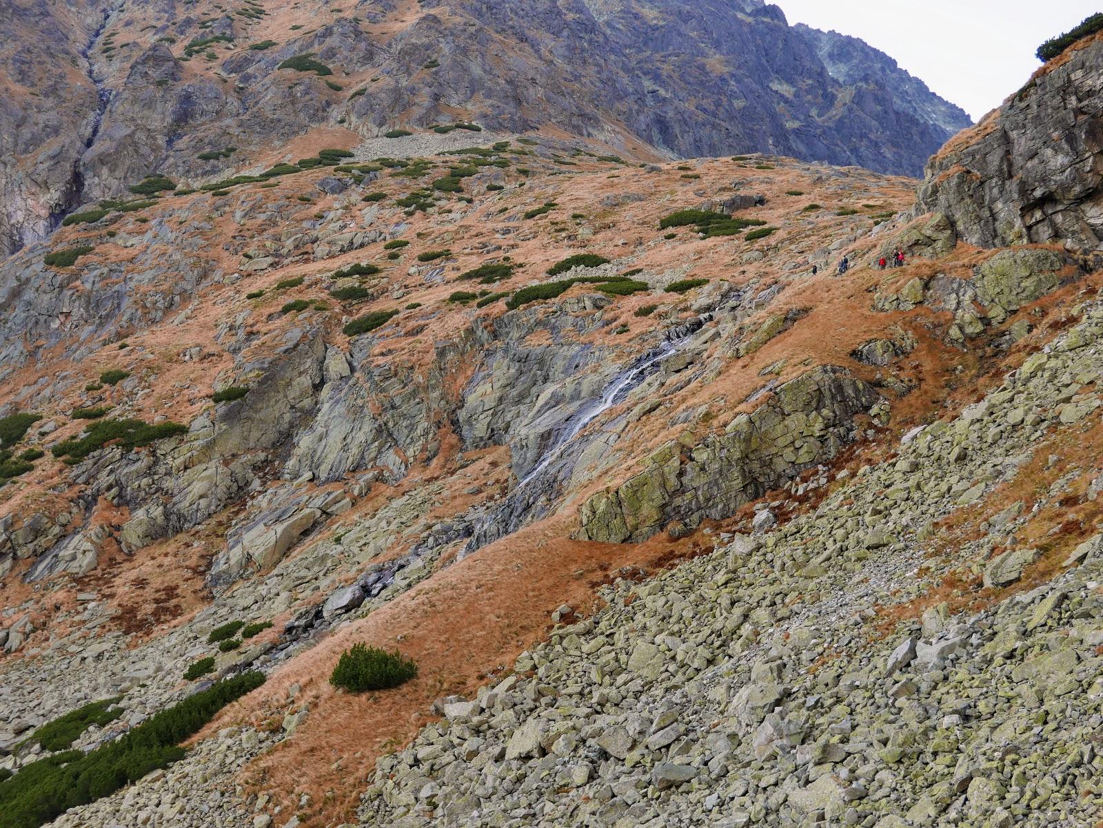 tatry wysokie wielicka dolina Wielicka Siklawa Velický vodopád