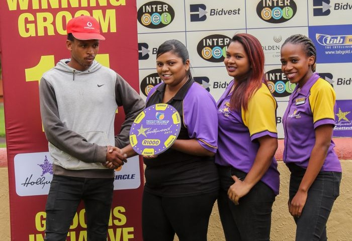 Winning grooms at Hollywoodbets Scottsville on Sunday 15th December 2019