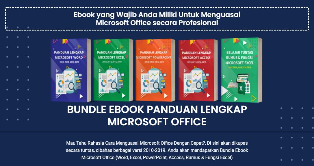 Belajar Microsoft Word Excel Access Powerpoint Menguasai Secara Instan