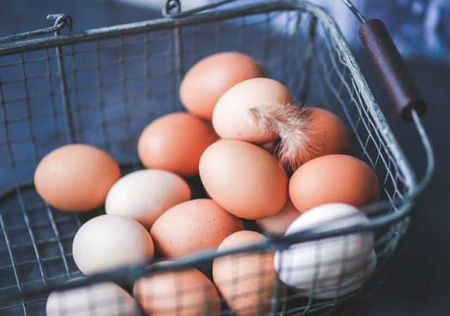 simpan telur di suhu ruangan