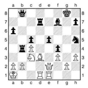 Les parties d'échecs du jeu de la dame (épisodes 3)