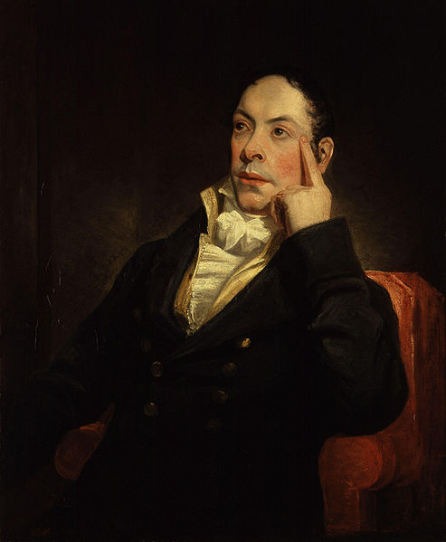 "Matthew ""Monk"" Gregory Lewis by Henry William Pickersgill, 1809"