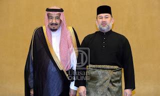 Agong Gesa KL,Riyadh Bekerjasama Tangani Cabaran Dihadapi Umat Islam