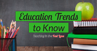 How can you tell when an education trend is here to stay or is just a fad? Check out these six trends that are here to stay!