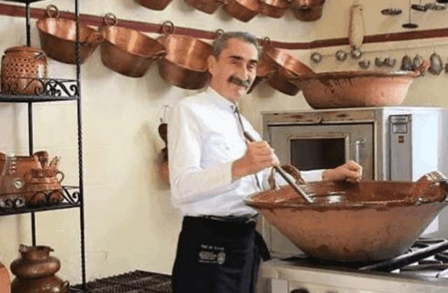Falleció a los 69 años el chef y escritor Yuri de Gortari Krauss. Twitter