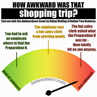 How awkwardness was that shopping trip by Robyn Welling @RobynHTV