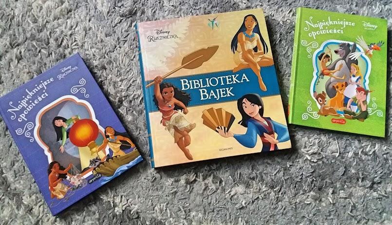 """Seria Disneya """"Najpiękniejsze opowieści"""" oraz """"Biblioteka bajek"""""""