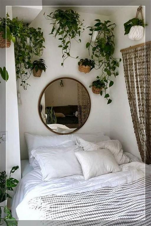 61 Hanging Plants In The Bedroom Ideas