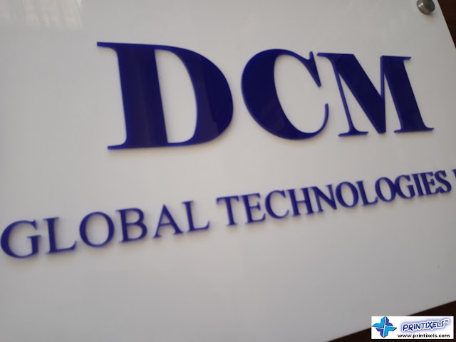 Laser Cut Acrylic Letters - DCM Global Technologies