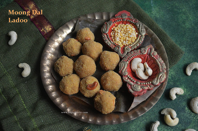 Moong Dal Ladoo Recipe | how to make Moong Dal Ladoo | Paasi Parupu Ladoo