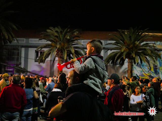 Los pequeños y los grandes disfrutan del Womad Canaria