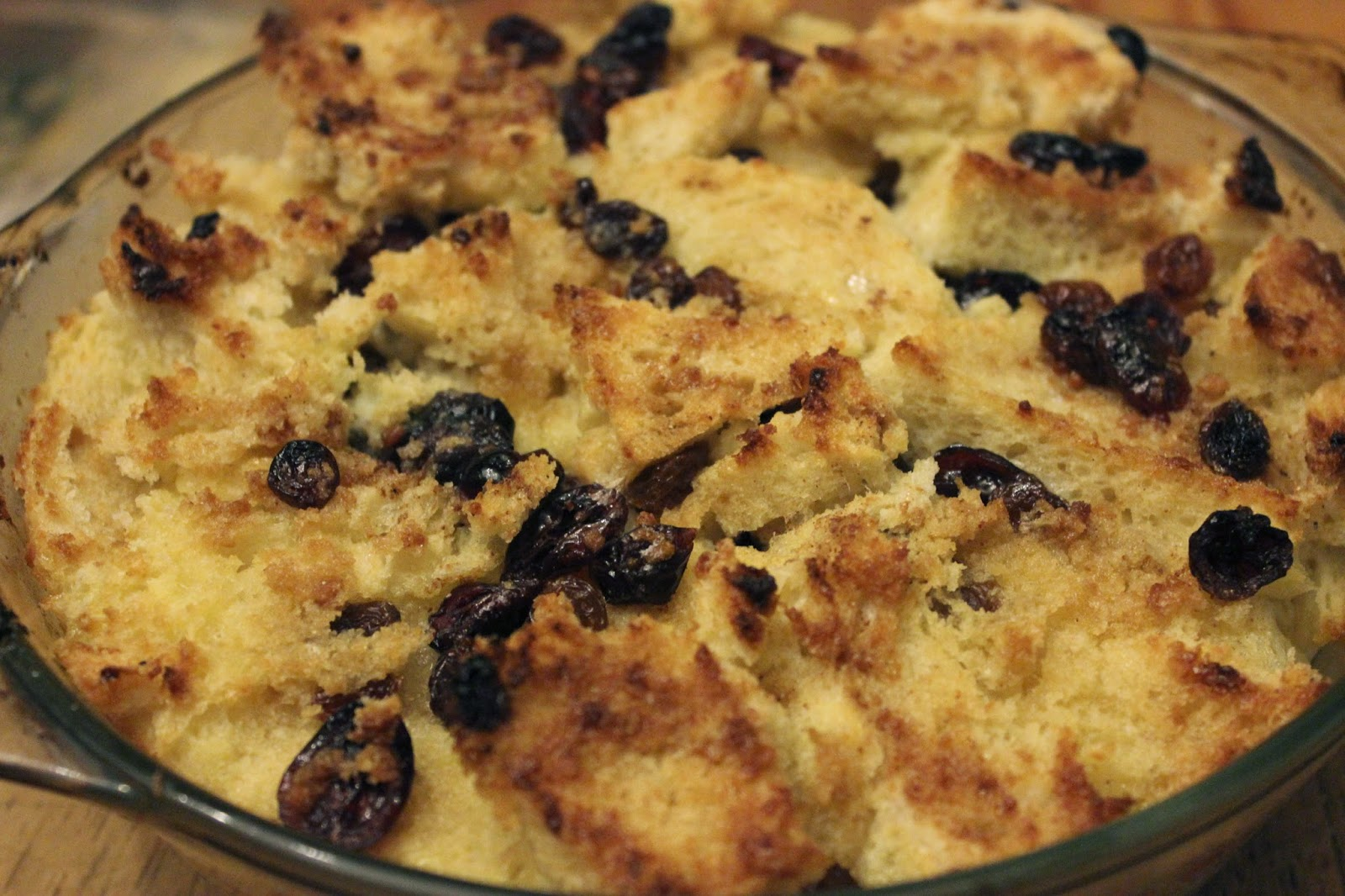 raditional organic bread and butter pudding recipe
