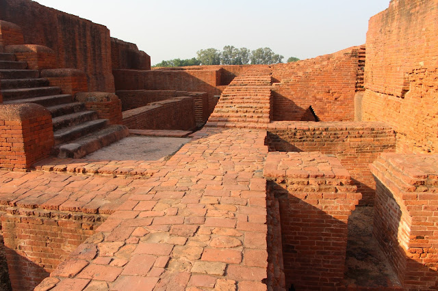 Ruins of Nalanda University , Nalanda , Bihar  India
