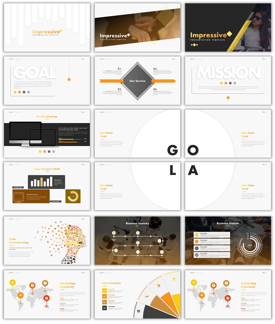 free modern powerpoint templates