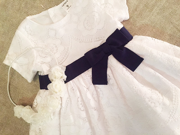 Vestidos de bautismo para niñas primavera verano 2018.