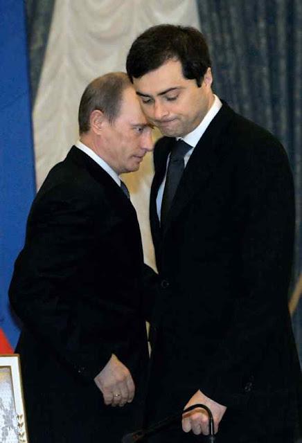 'Slava' está na execução dos segredos sujos de Putin