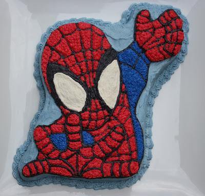 V E G A N D A D Spiderman Returns Happy 5th Birthday