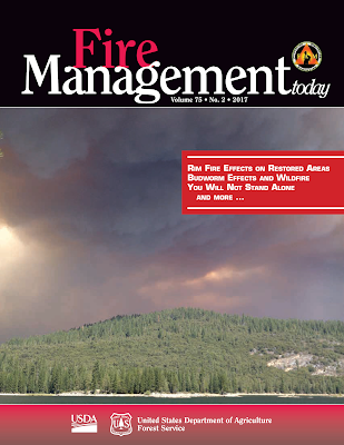 Fire Management Today cover