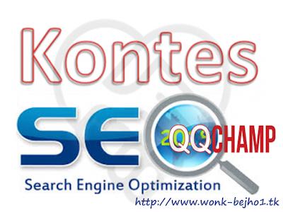 Info seputar Kontes SEO Situs Judi Slot Online QQChamp terbaru