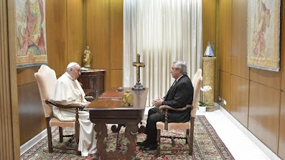 Pope Francis and President of Argentina