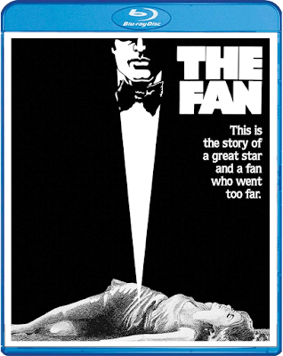 Cover art for Scream Factory's Blu-ray release of THE FAN (1981)!