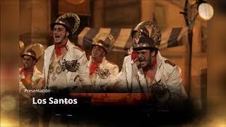 """Presentación con Letra Comparsa """"Los Santos"""" de Jesus Bienvenido Saucedo (2010)"""