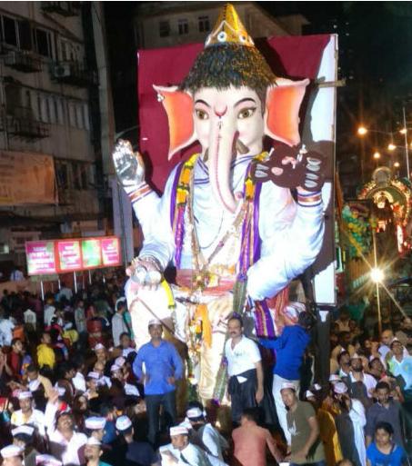 Girgaon Ganpati Visarjan 2016 Live