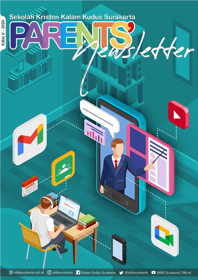 Parents' Newsletter SKKK Surakarta Edisi V - Desember 2020